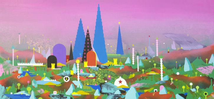 Obra de Nelo Vinuesa en Espai Tactel. Imagen cortesía de la galería.