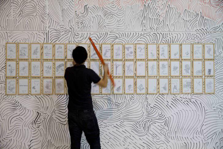 José Medina Galeote. Artista invisible dispara, 2011. CAC Málaga. Cortesía del artista.