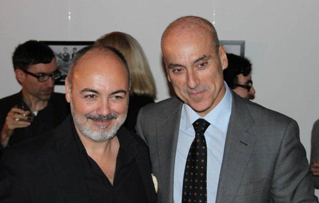 Rafael Maluenda  director de Cinema Jove, (izquierda) durante la pasada edición. Imagen cortesía Hispanoscope.