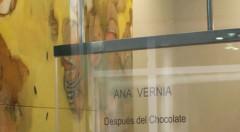 Imagen de la exposición de Ana Vernia en Galería Cuatro.