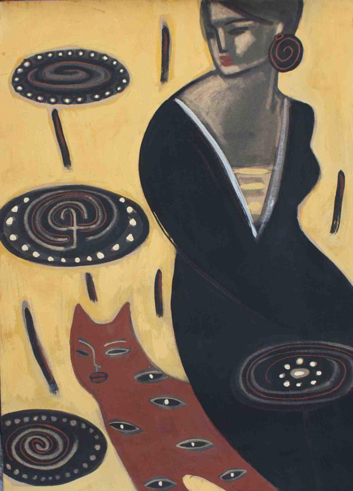 Obra de Carmen García. Imagen cortesía de artEnred.