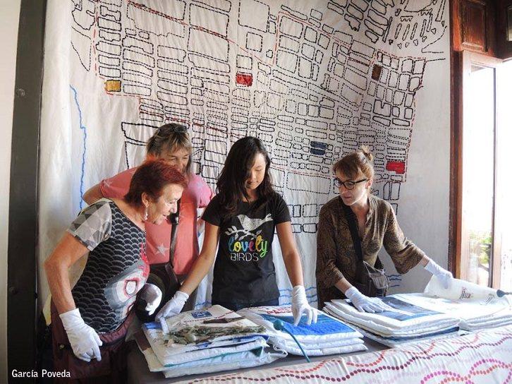 Casa 8. Cabanyal punt a punt, artesanía por medio del Craft y el activismo. Fotografía: Flaco García Poveda