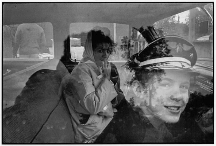 Fotografía de Danny Lyon para 'The Bikeriders', de la Fundación Colectania, en el MuVIM.