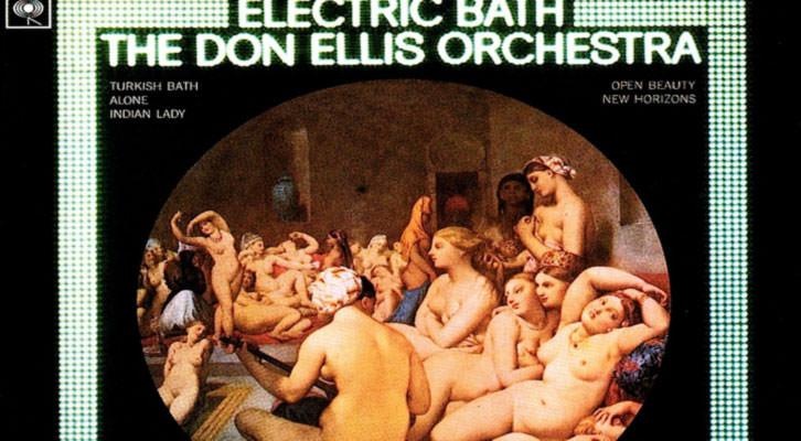 Detalle de la portada del mítico disco 'Electric Bath' de Don Ellis, que será la producción propia de Jimmy Glass, dirigida por Perico Sambeat.