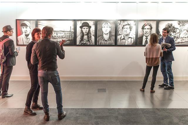 Exposición 'Ibérica', de Ricky Dávila, en 12 Star Gallery de Londres. Imagen cortesía del autor.
