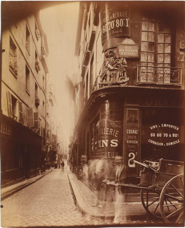 Fotografia de Jean-Eugène Atget en la exposición 'Paisaje urbano en la colección fotográfica del IVAM', Imagen cortesía del IVAM.