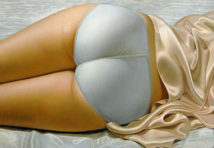 Obra de John Kacere en la exposición 'Hiperrealismo 1967-2013' del Museo de BBAA de Bilbao. Imagen cortesía del Museo de Bellas Artes de Bilbao.