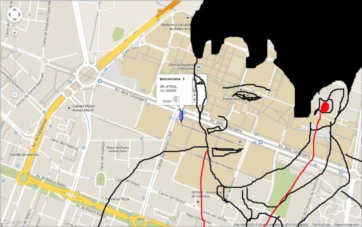 Colectivo Cráter. Mapa de los deseos. Voces de la comunidad universitaria. Cortesía de los artistas.