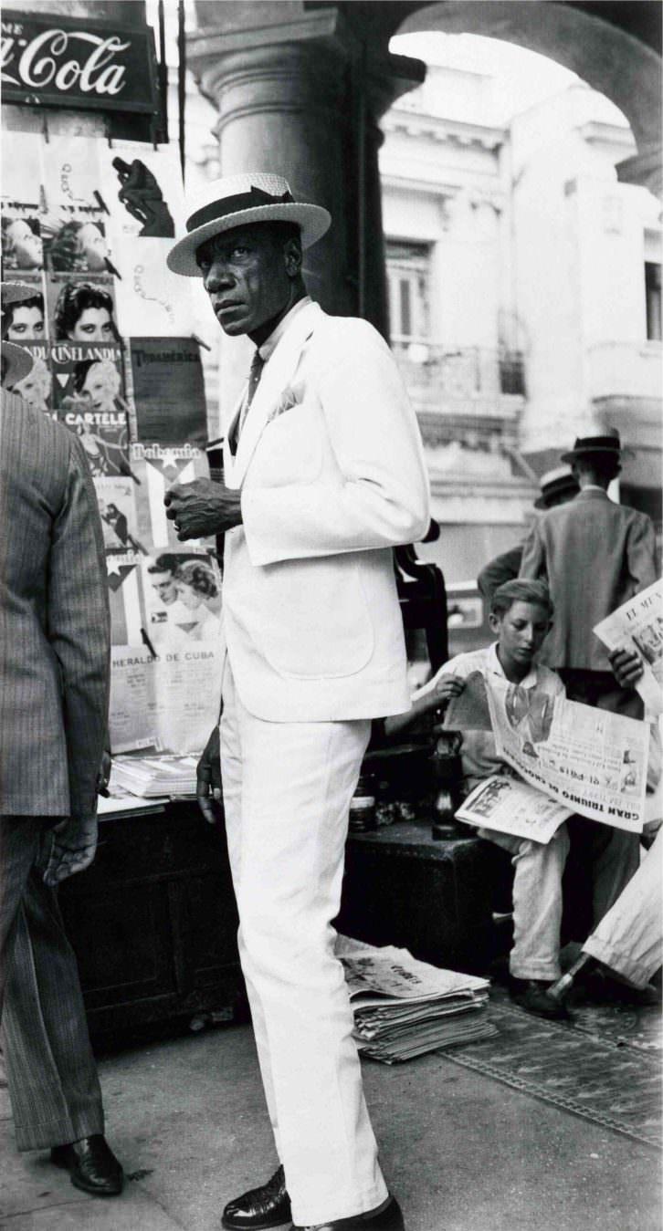 Fotografía de Walker Evans en la exposición 'Paisaje urbano en la colección fotográfica del IVAM'. Imagen cortesía del IVAM.