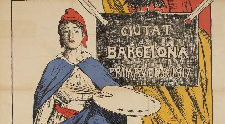 Barcelona, zona neutral en la Gran Guerra