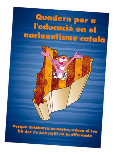 Quaderns per a la educació en el nacionalisme català por Nano Orte. Imagen cortesía Galería Cyan.