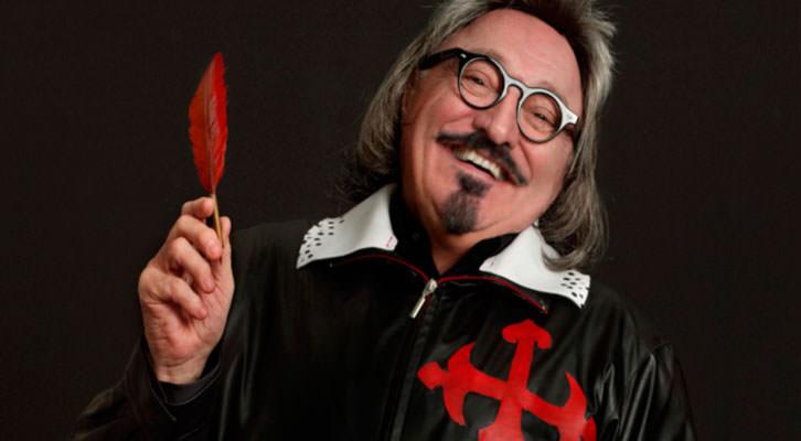 Moncho Borrajo en 'Yo, Quevedo'. Imagen cortesía de Teatre Talia.