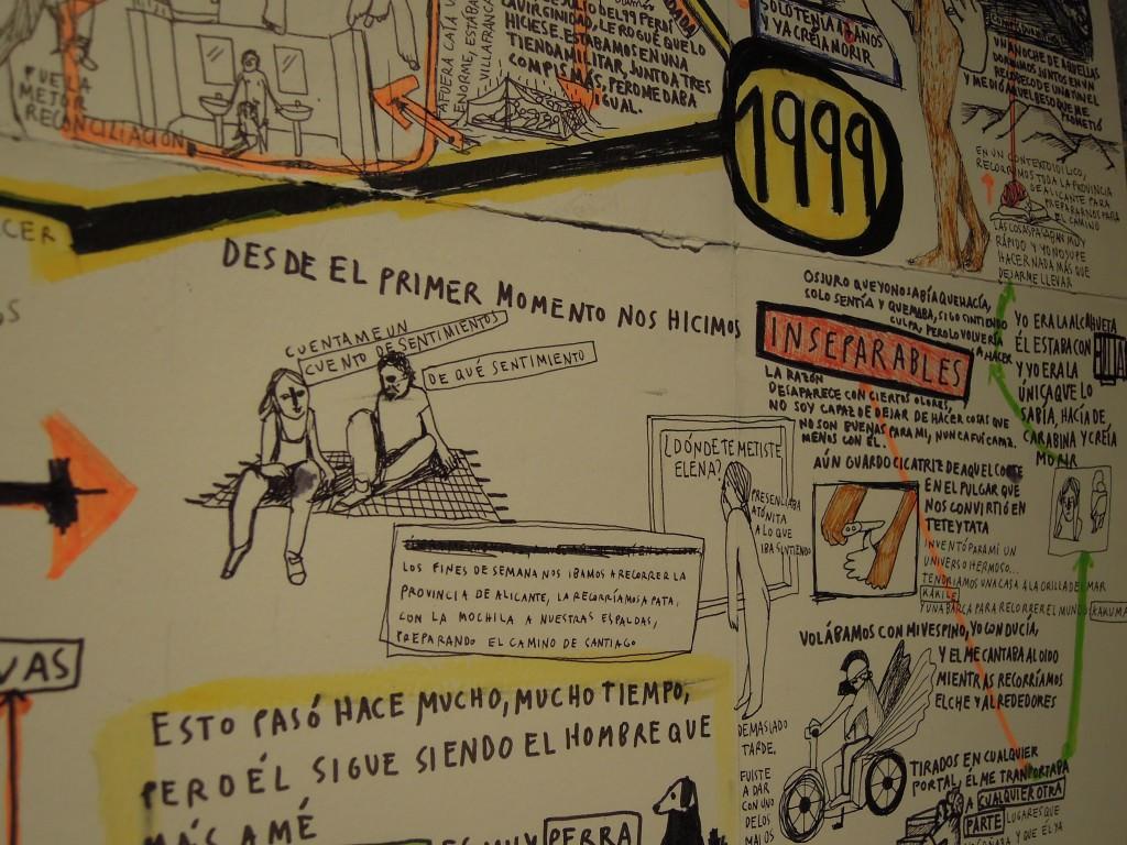 Elena Sevilla. Residencias A Quemarropa en Espacio Trapézio. Cortesía Colectivo Cristal