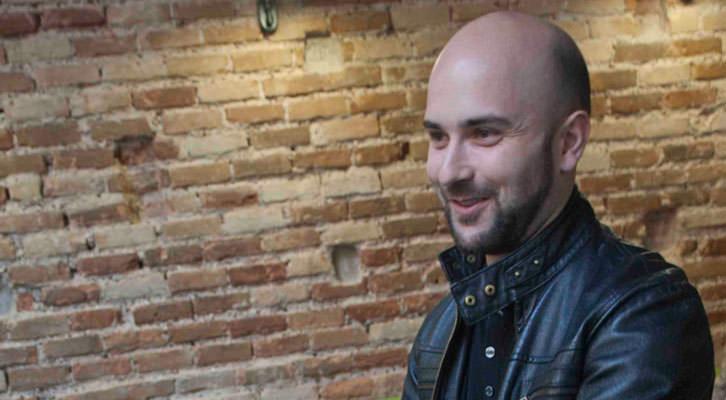Miguel Ángel Font, en un instante de los Desayunos Makma de Lotelito. Foto: Fernando Ruiz.