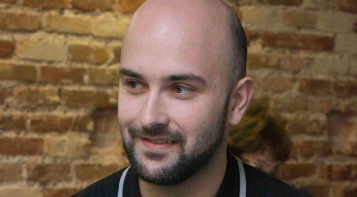 Miguel Ángel Font, durante los Desayunos Makma de Lotelito. Fotografía: Fernando Ruiz.