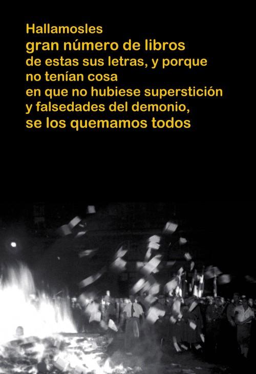 Proyecto Bibrramblabookburning, en Granada
