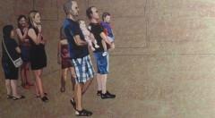 Obra de Inmaculada Martinez en la exposición 'Operación ocio' de la galería Rosalía Sender.