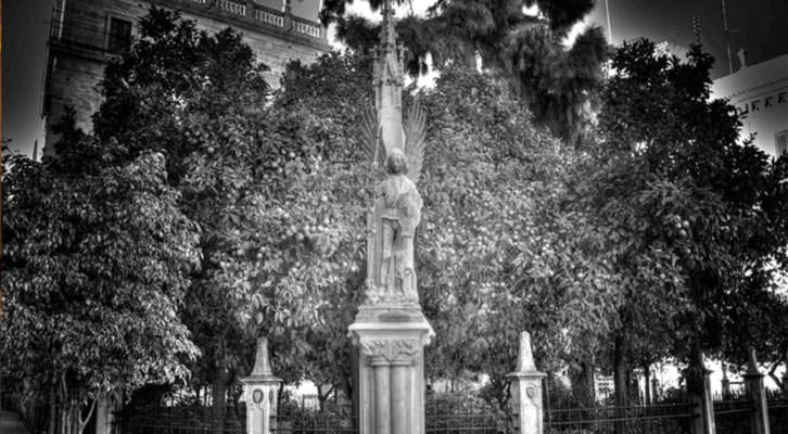 Jardín de la Batllía, una de las rutas de Luis Vives. Imagen cortesía de Francesc Hernàndez.