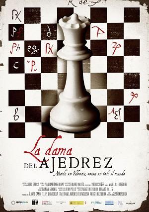 Cartel de la película 'La dama del ajedrez', de Agustí Mezquida. Cortesía del autor.