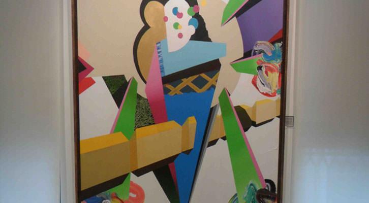 Helado atómico, obra de Pedro Paricio, en la Galería Muro de Valencia.