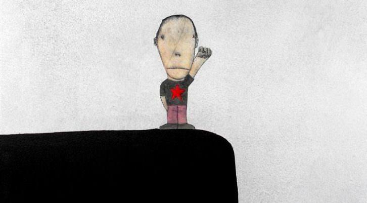 Moisés Yagües. Don't happy, be worry. Cortesía del artista