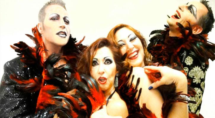 Los cuatro integrantes de Somshow. Imagen cortesía de Sala Russafa.