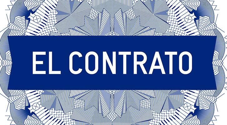 Pieza de la exposición 'El Contrato', de Bulegoa, en Alhóndiga Bilbao. Imagen cortesía de las organizadoras.