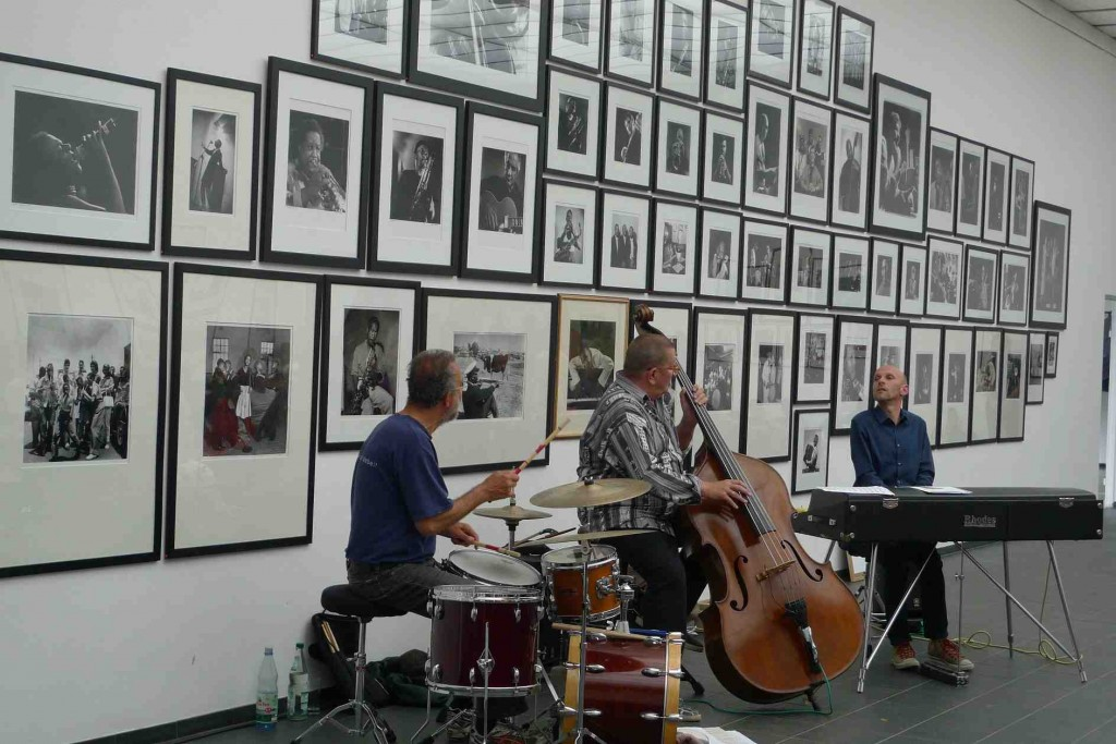Uli Partheil trio estará en el Festival de Jazz de UPV. Imagen cortesía de la UPV.
