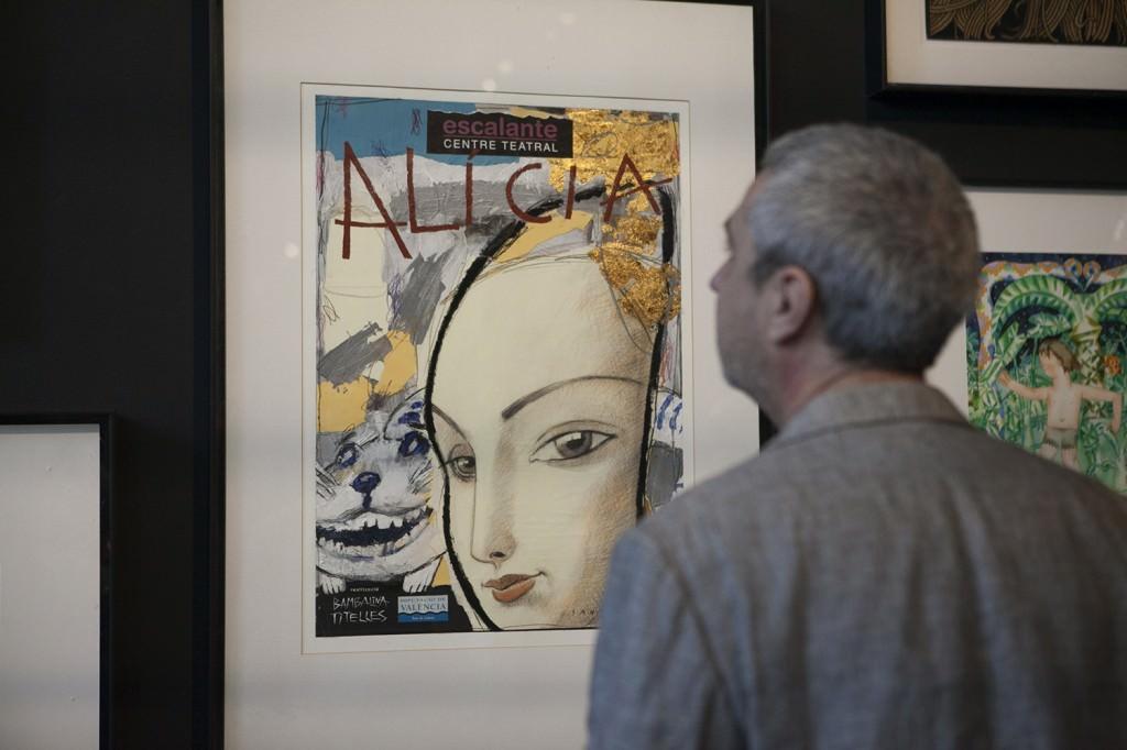 Imagen de la exposición 30 anys de l'Escalante en el MuVIM. Cortesía del Centre Teatral de la Diputación de València.