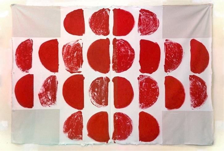 Cuadro plegable, de Juan Sánche (primer premio); Imagen cortesía de la organización.