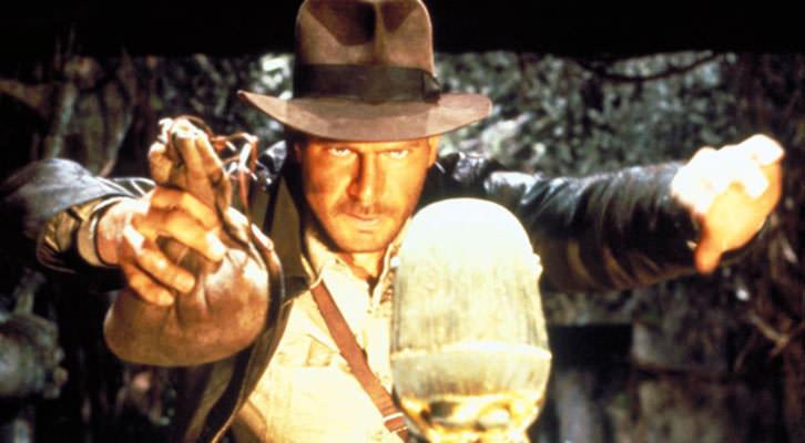 Fotograma de En busca del arca perdida, de Steven Spielberg, película incluida en el libro '29 miradas sobre Spielberg'.