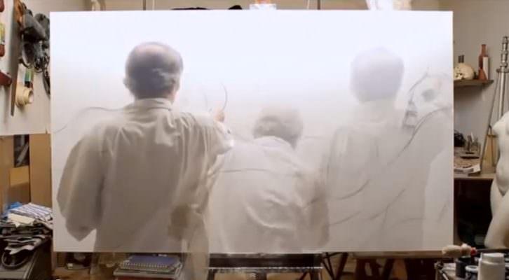 Fotograma del video de Joan Dolç sobre Jordi Ballester. Mostra Viva.