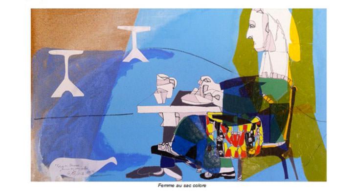 Obra de Coanto en la exposición Caleidoscopio. Imagen cortesía de Institut Français de Valencia.