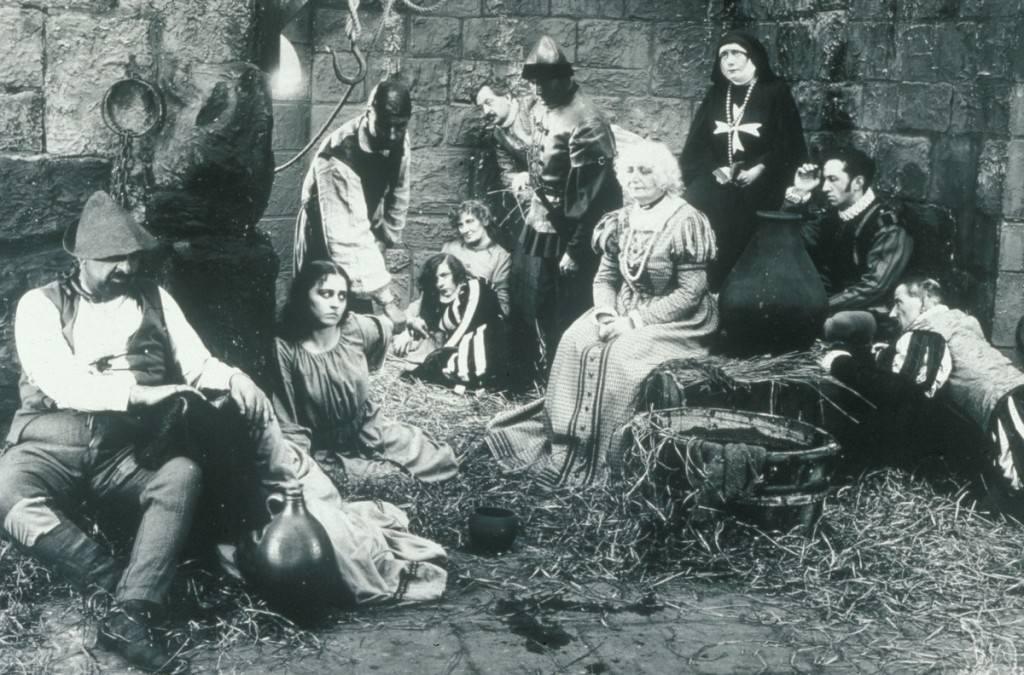 Fotograma de la película 'Las páginas del libro de Satán', de Carl Theodor Dreyer. Cortesía del Aula de Cinema de la Universitat de València.