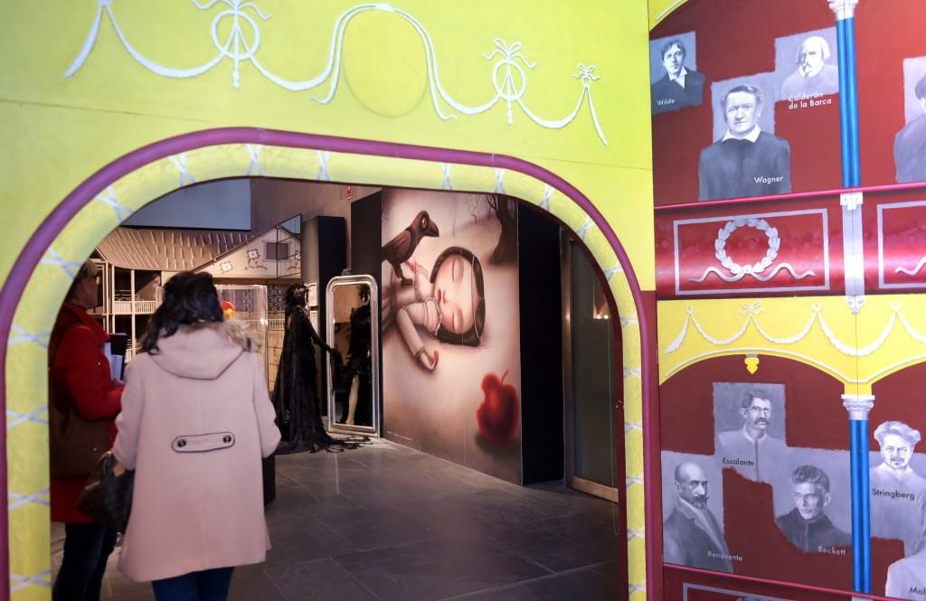 Imagen de la exposición 30 anys de l'Escalante en el MuVIM. Foto: Raquel Abulaila.