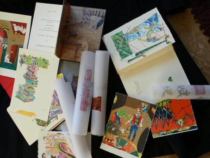 Detalle de ilustraciones pertenecientes a 'Fábulas literarias'. Imagen cortesía de Vicente Chambó.