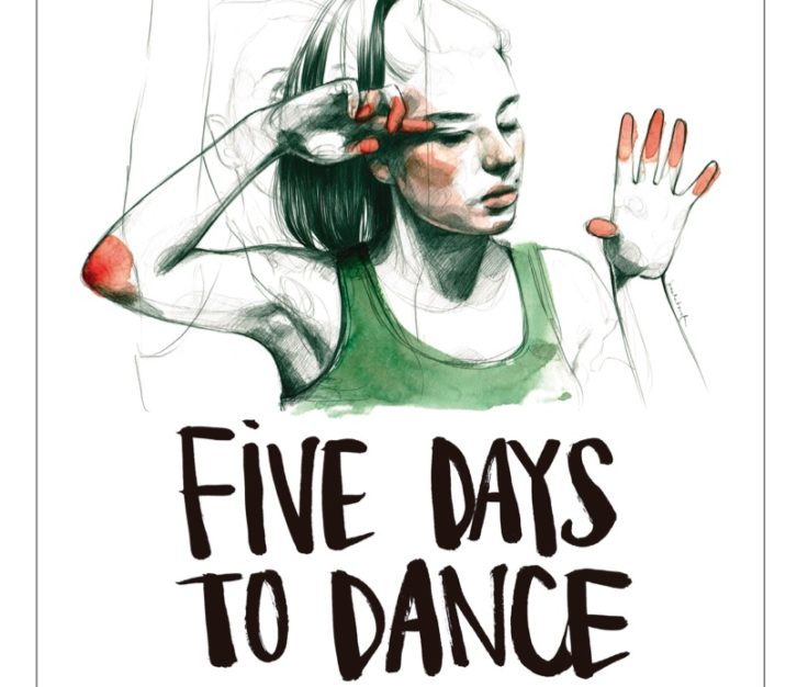 Detalle del cartel diseñado por Paula Bonet del documental 'Five days to dance', de Rafa Molés y Pepe Andreu.