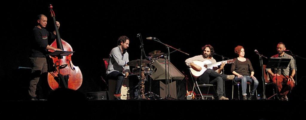 El grupo Krama en plena actuación. Fotografía: Ana Galán.