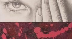 Detalle de una de las obras de Vicent Marco en la exposición Invidentes. Cortesía de Imprevisual.