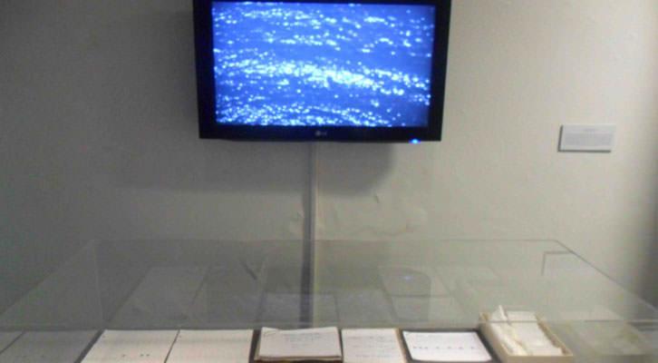 Obra de Blanca Montalvo en 'Mar-Mar'. Octubre Centre de Cultura Contemporània.