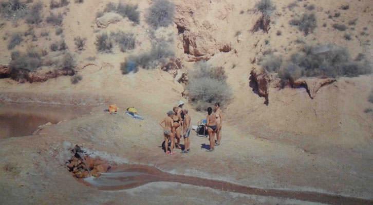 Obra de Neus Lozano en 'Mar-Mar'. Octubre Centre de Cultura Contemporània.