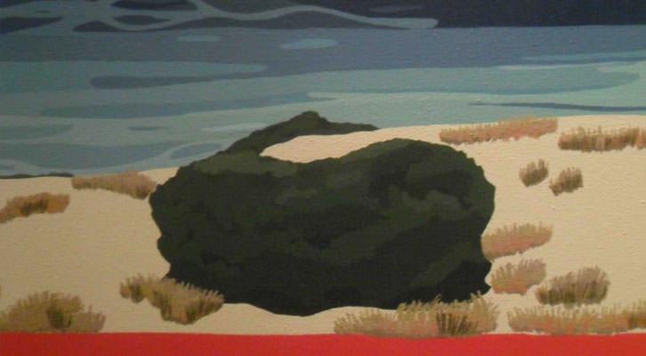 Obra de Marisa Casalduero en el Centro del Carmen.
