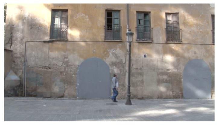 Fotograma de El cadencioso movimiento de los vagos, de Javier Marisco. Cinema Independent Valencià. La Llotgeta.