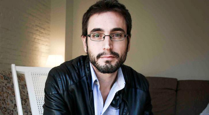 Pau Gómez, coordinador del libro '29 Miradas sobre Spielberg'. Fotografía: Álex Crespo.