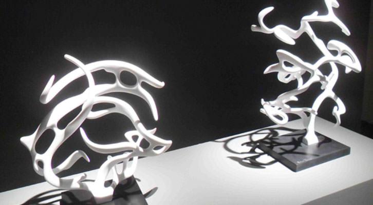 Esculturas de Quico Torres en el Centro del Carmen.