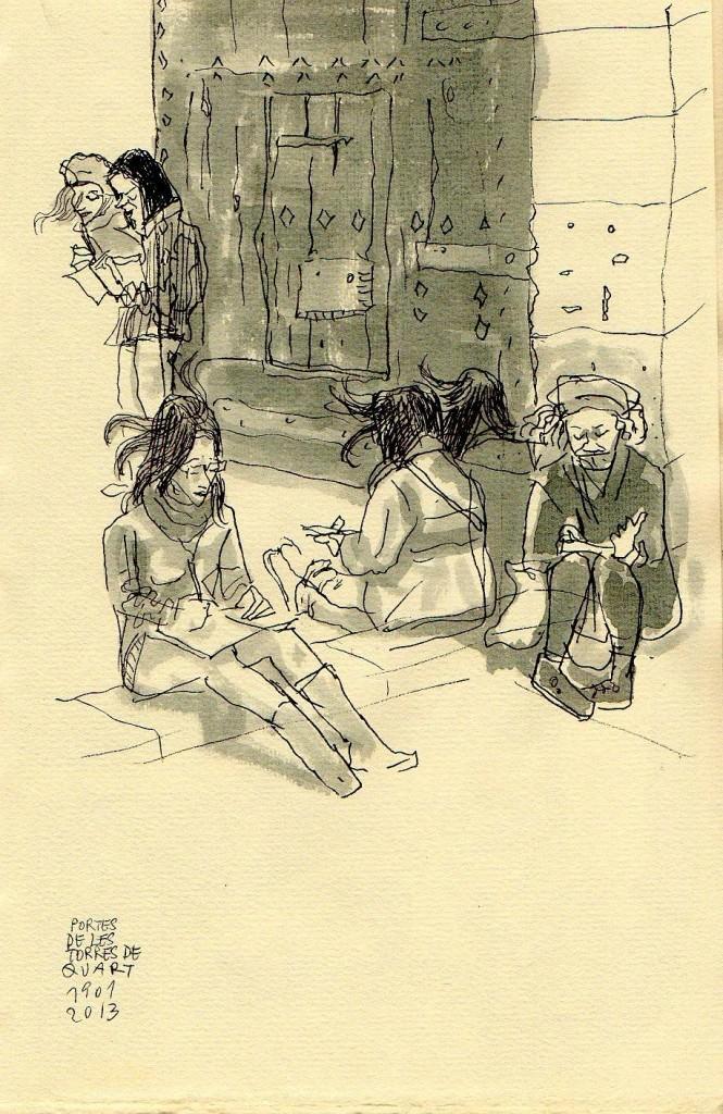Dibujo de Juanjo Tornero. Imagen cortesía de Café Malvarrosa.