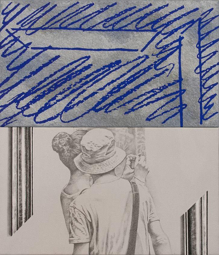 Obra de Vicent Marco en la exposición 'INvidenteS'. Imagen cortesía de Imprevisual.