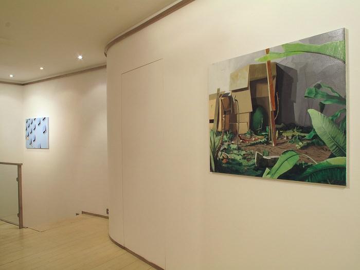 Vista de exposición. Imagen cortesía de la galería