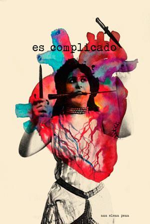 """""""Lanzadora de cuchillos"""". Ilustración de Ana Elena Pena. Imagen cortesía de la artista."""