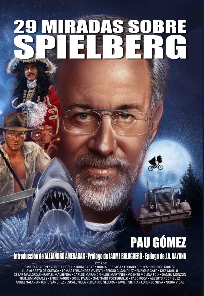 Portada del libro '29 Miradas sobre Spielberg', de la editorial El Búho de Minerva.